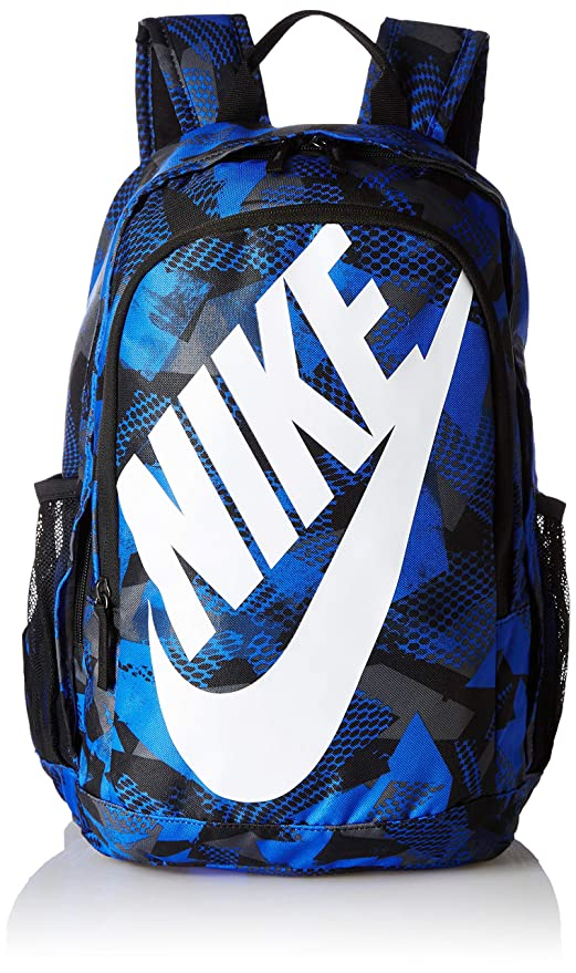 01f2aaafd9a0 Image Unavailable. Image not available for. Colour  Nike 25 Ltrs Medium Blue Black White  School Backpack ...