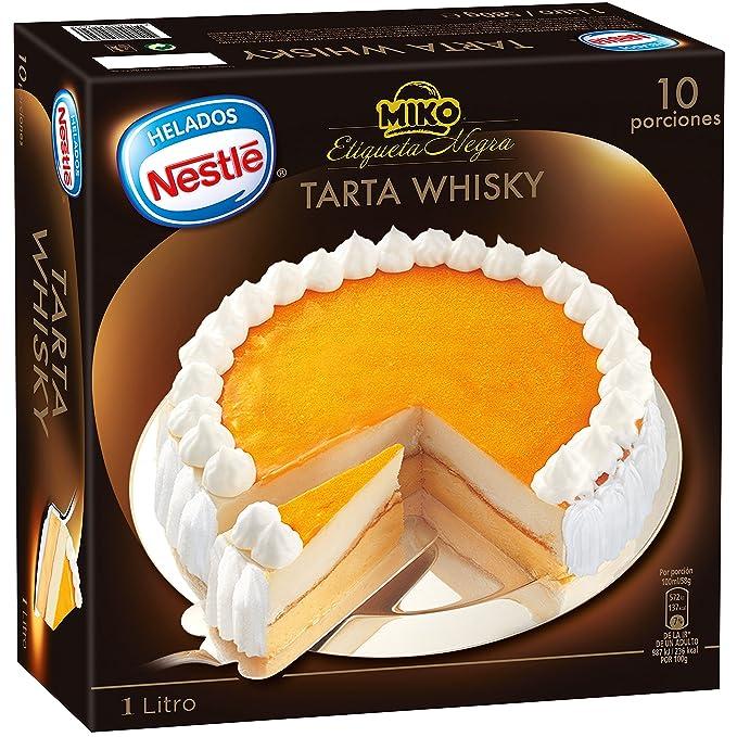 Helados Nestlé Tarta Helada Whisky Etiqueta Negra , 1 litro: Amazon.es: Alimentación y bebidas