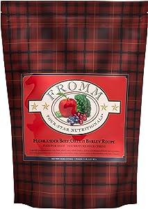 Fromm Four-Star Highlander Beef, Oats, & Barley Recipe Dry Dog Food (5 Lb)
