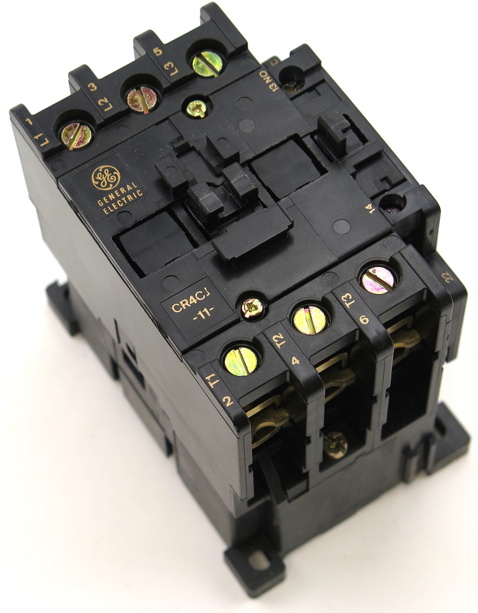 GE CR4CJB MAGNETIC CONTACTOR 56A 50HP 220/4240V 50/60HZ AC COIL FITS SPRECHER SCHUH CA3-60-220-NO by GE (Image #1)