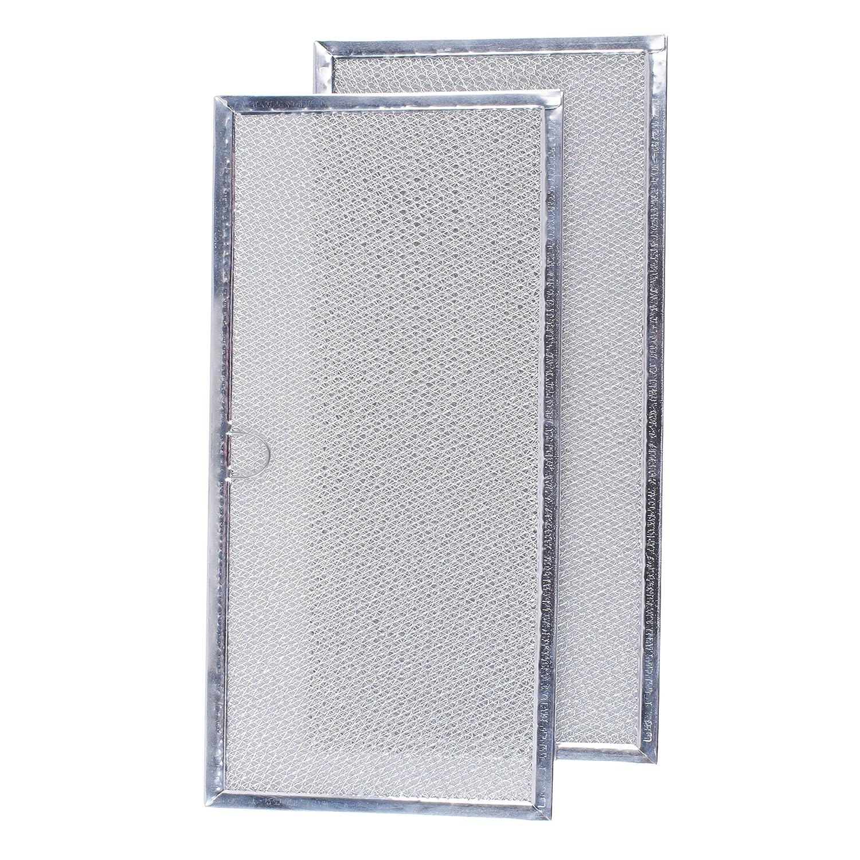 7-15290 AP4089172 71002111 AP4089172 PS2077593 2 pack 71002111 Range Hood Grease Filter for Maytag 580029 Jenn Air 715290 AH2077593 Broan Range Hood Filter