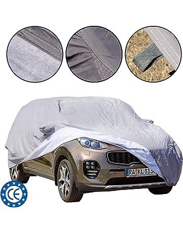 Cubierta para coche para SUV, impermeable, ajuste universal, a prueba de polvo y