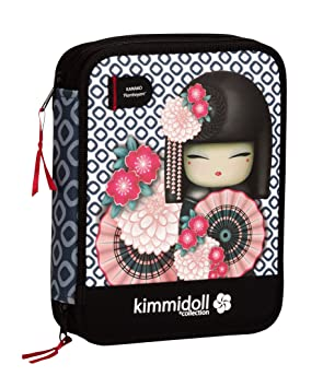Kimmidoll - Plumier doble grande (Safta 421248056): Amazon ...