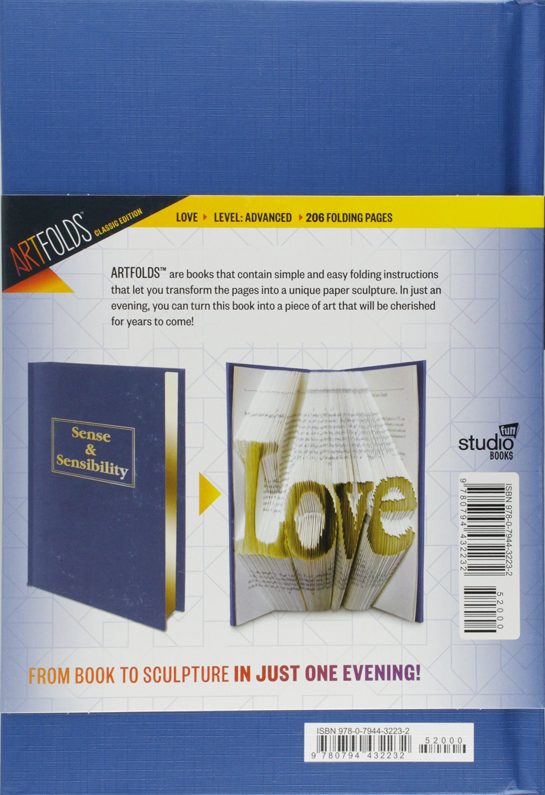 ArtFolds: Love: Sense U0026 Sensibility (ArtFolds Classic Editions .
