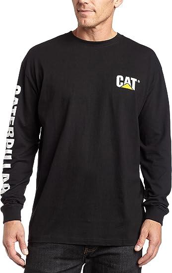 Caterpillar Camiseta Cat manga larga 1510034 - 016 - Talla L ...