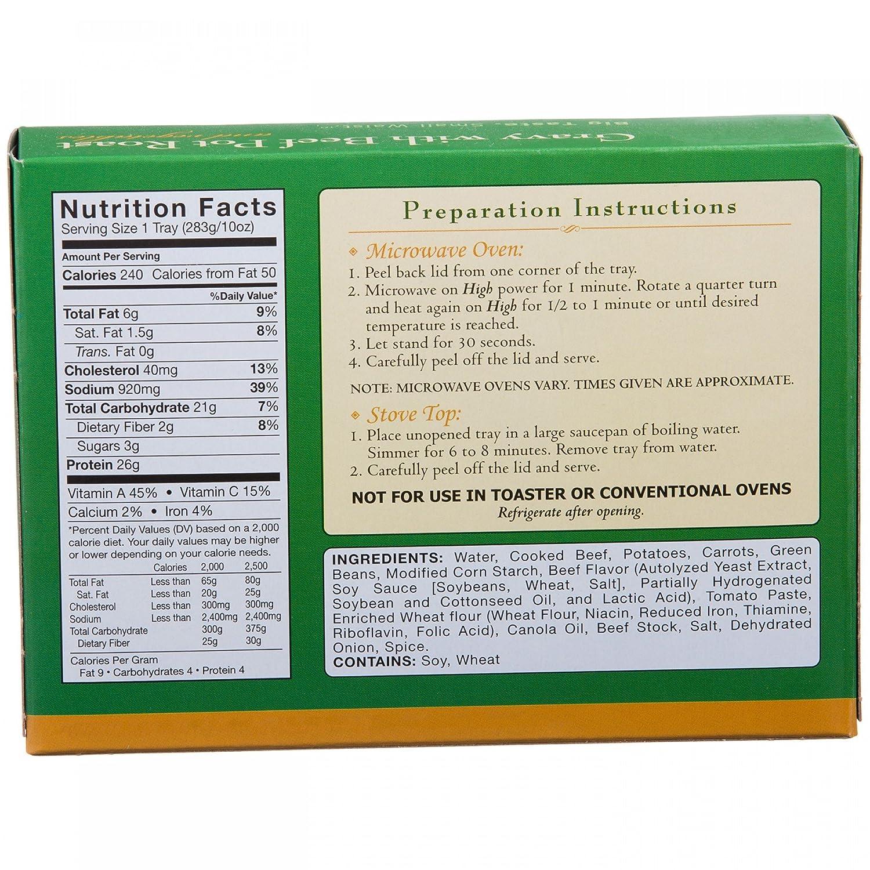Amazon.com: Nutriwise – Carne de Vacuno con Gravy Bote Roast ...