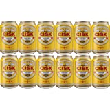 Cisk Maltese Lager Beer - 12 x 330ml