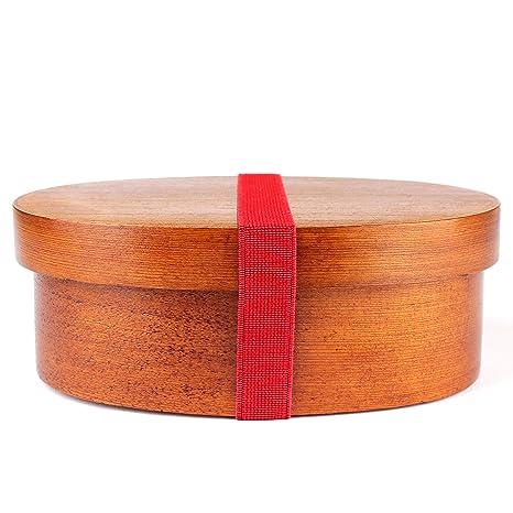 Amazon.com: Japonés Wappa Bento Box Hecho a mano con madera ...