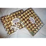 Ferrero Rocher Party Size Hazelnut Chocolate 21 oz 48 count (Pack of 2)
