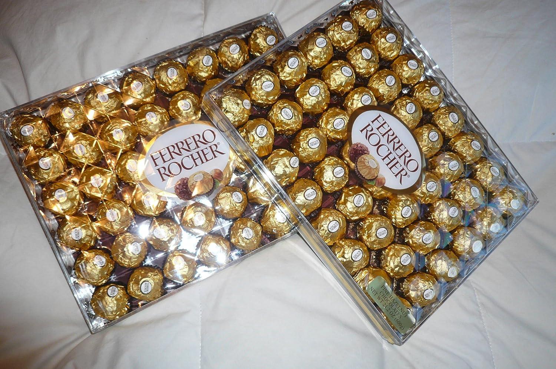 Amazon.com : Ferrero Rocher Party Size Hazelnut Chocolate 21 oz 48 ...