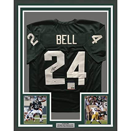 Autographed  Signed LeVeon LeVeon Bell Pittsburgh Steelers Color Rush  Jersey JSA COA a73428b4c