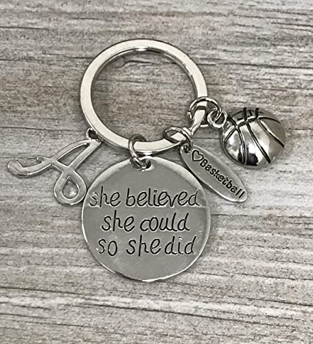 Image Unavailable. Image not available for. Color  Personalized Basketball  Keychain- ... d272959f74