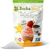 BochaSweet Supreme Sugar Replacement - Bakes, Cooks, and Tastes Just Like Sugar, 16 oz [1LB]