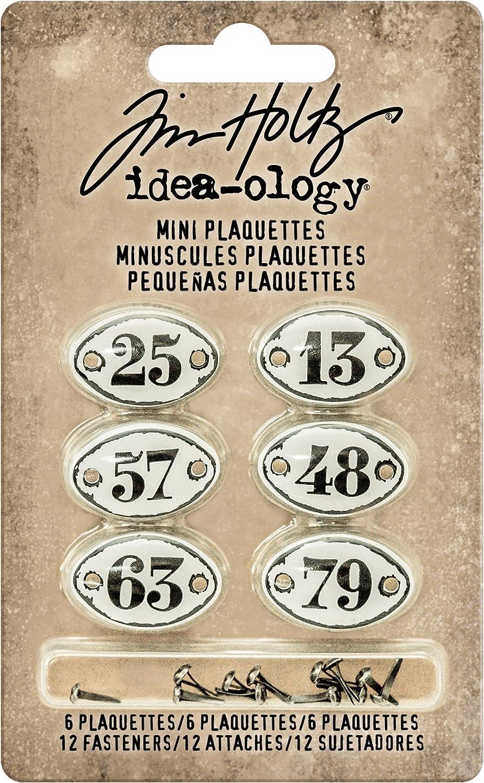 """Idea-Ology Large Metal Keyholes 3//Pkg 1.25/""""X2.5/"""" 040861936780"""