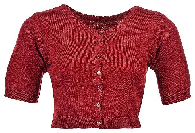 c2940d8ec855 Roshni Oswal Women s Daffodil Wool Blouse (Red