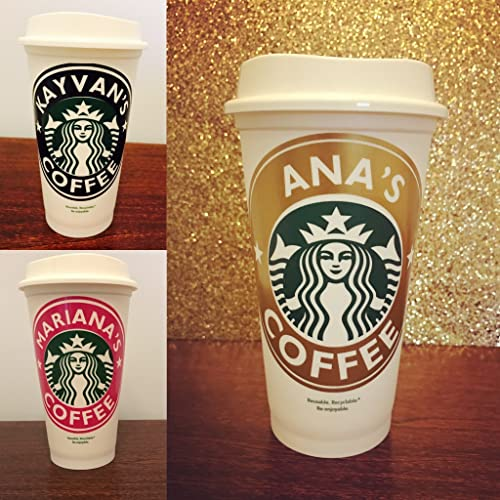 Personalized Starbucks Reusable Cup