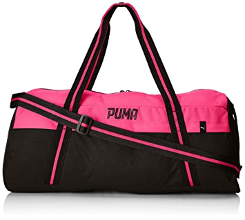 95102e36c3 Puma Sports bag Fundamentals 074418-02 Puma Black-Knockout Pink One size