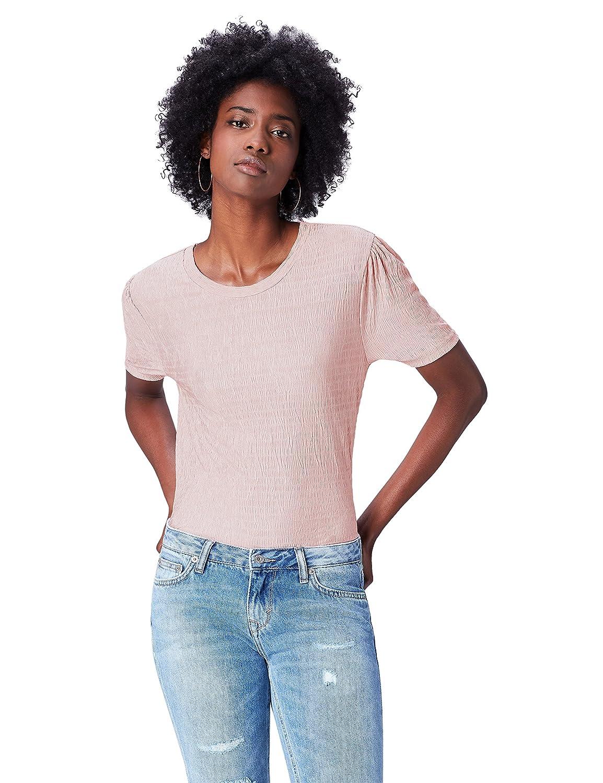 TALLA 48 (Talla del fabricante: XXX-Large). FIND Camiseta con Cuello Redondo Mujer