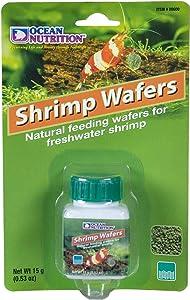 Ocean Nutrition Shrimp Wafers 0.53-Ounces (15 Grams) Jar