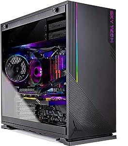 Skytech Azure Gaming Computer PC Desktop – Ryzen 7 3700X 3.6GHz, RX 5700 XT 8G, 1TB NVME, 16GB DDR4 3200MHz, RGB Fans, Windows 10 Home 64-bit, 802.11AC Wi-Fi