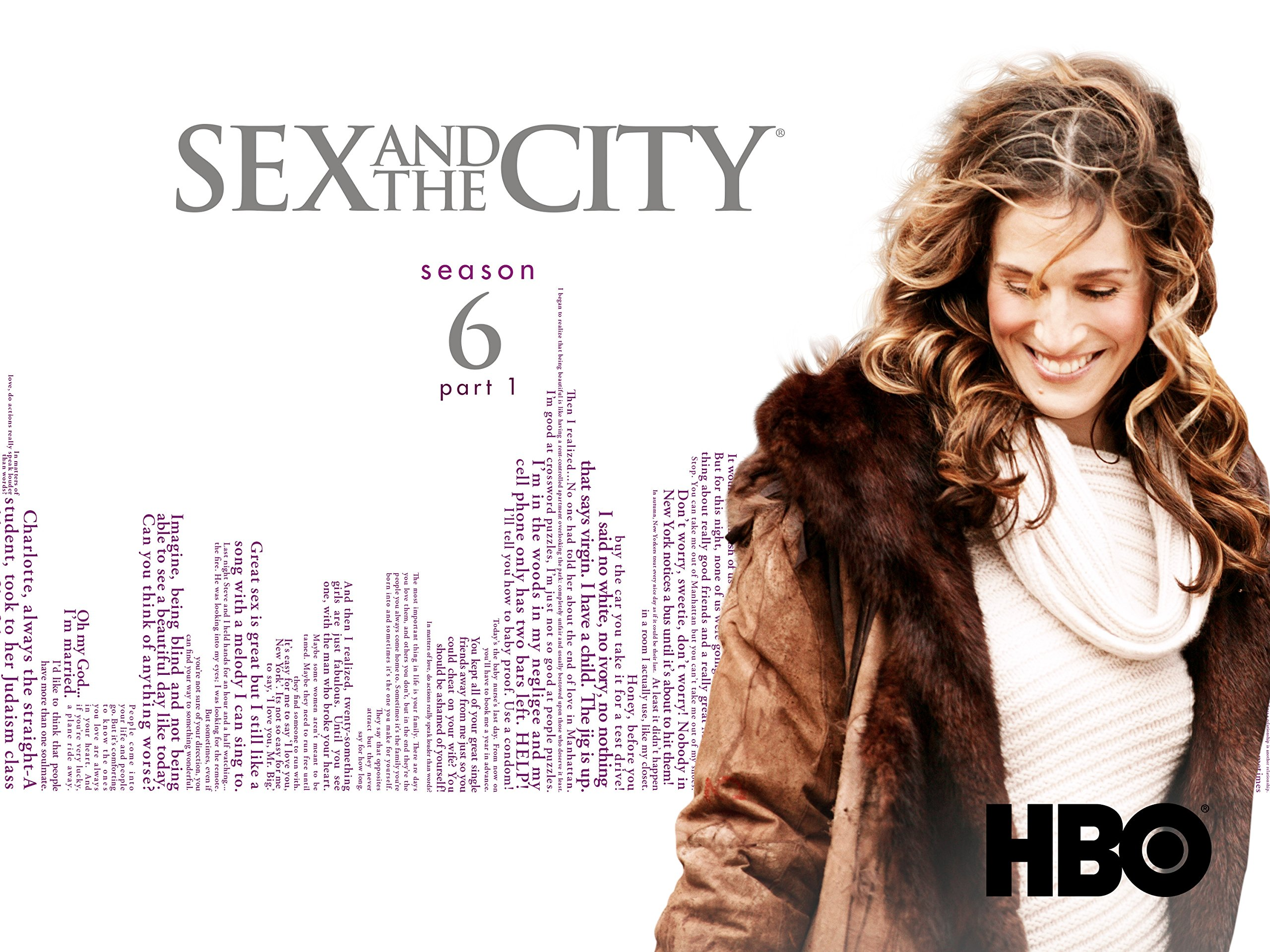 Sex and the city season 6 finale