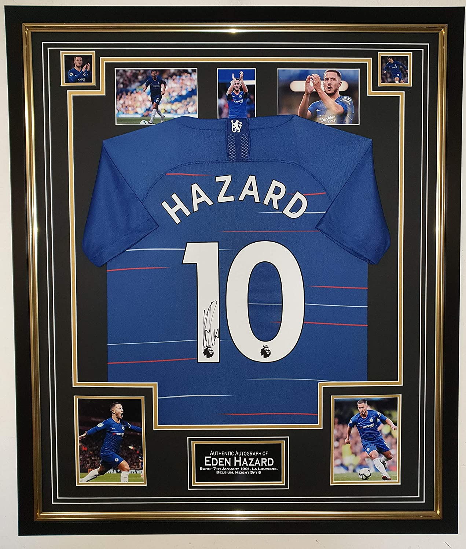 www.signedmemorabiliashop.co.uk Eden Hazard of Chelsea ...