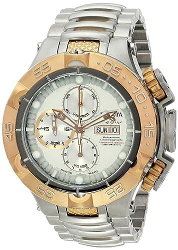 Invicta 15486 Subaqua analógico pantalla dos tonos reloj automático suizo: Invicta: Amazon.es: Relojes