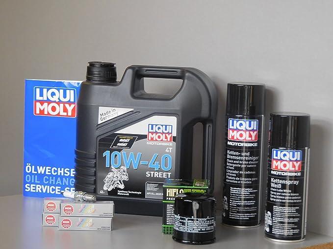 Wartungs Set Honda Cbr 1100 Xx Öl Ölfilter Zündkerze Kette Service Inspektion Auto