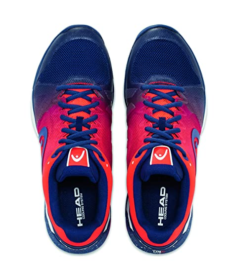 4b092beff Head Revolt Pro 2.5 Blue Flame Orange Men s Tennis Shoes  Amazon.ca  Shoes    Handbags