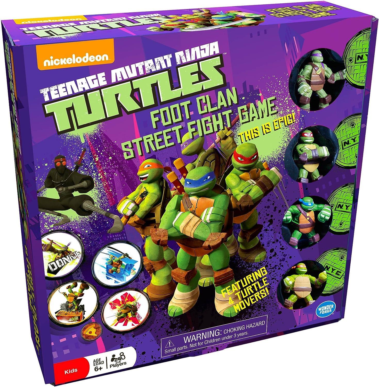 Teenage Mutant Ninja Turtles (TMNT) Foot Clan Street Fight Game