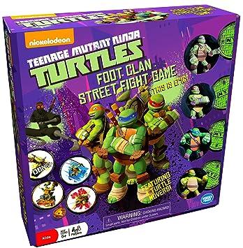 Wonder Forge Teenage Mutant Ninja Turtes Foot Clan Street ...