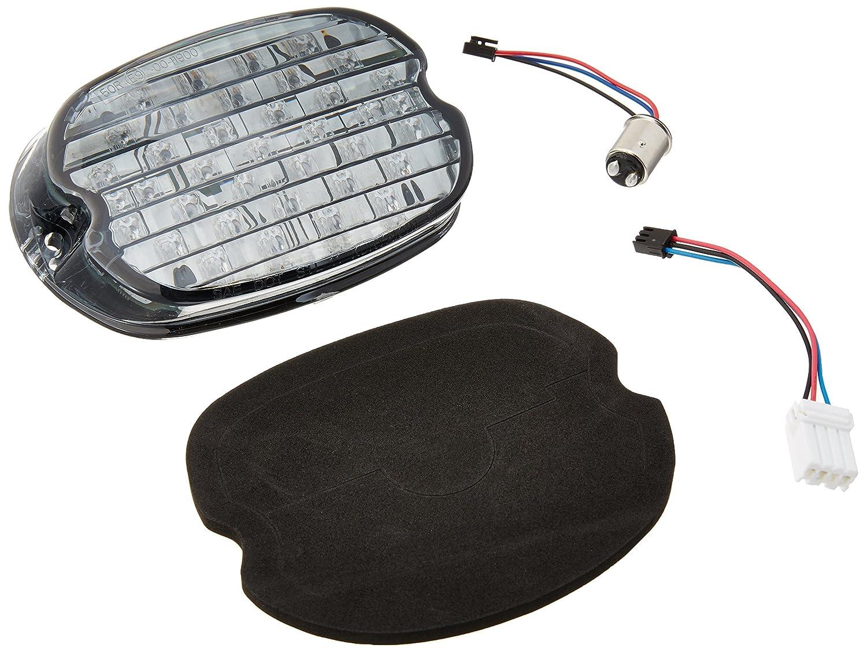 Kuryakyn 5468 Low Profile ECE Smoke LED Taillight with License Illumination