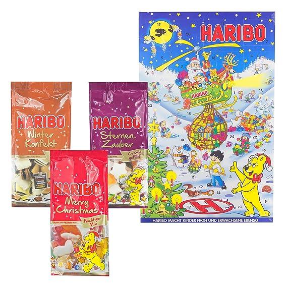 Calendario Avvento Haribo.Haribo Natale Set Calendario Dell Avvento Confetti