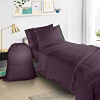 Clara Clark 6 Piece Bed In A Bag Bedding Comforter Set, Twin/X-Large
