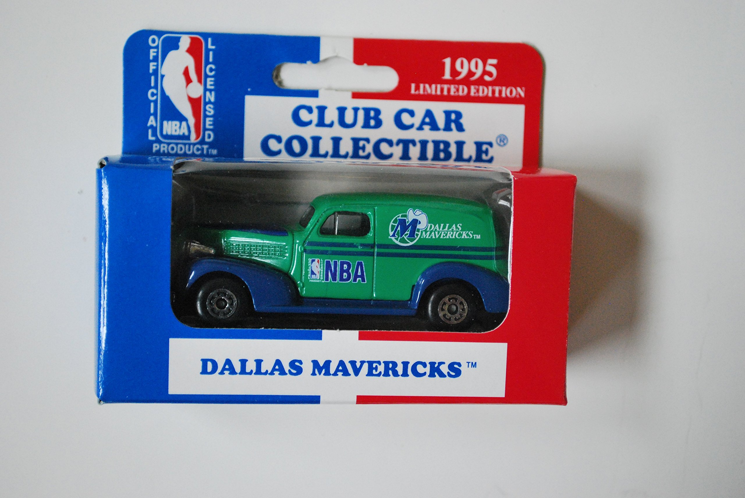 1995 Matchbox 1:64 Scale Model '39 Chevy Club Car Collectible DALLAS MAVERICKS