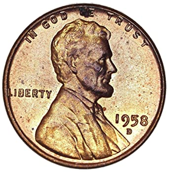 1958 D Wheat Penny