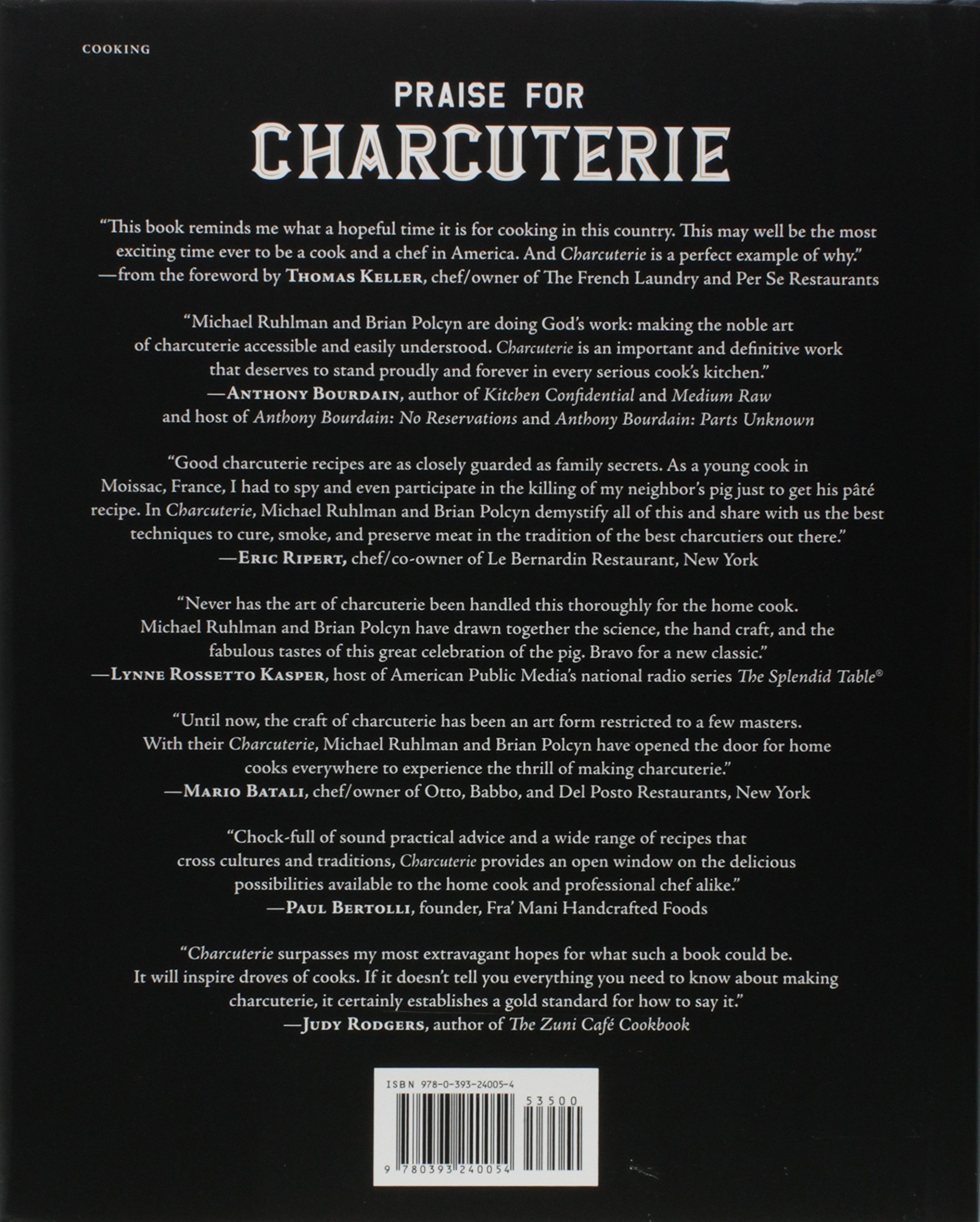charcuterie the craft of salting smoking and curing revised and