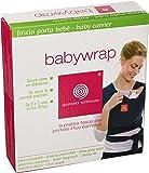Quaranta Settimane - Babywrap Fascia porta bebè,da 0 a 3 anni,0.5 x 4.75 m, Verde Lago