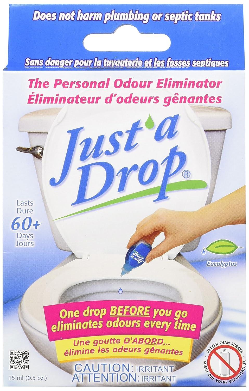Just a Drop Toilet Odour Eliminator, Eucalyptus, 15 ml Prelam Enterprises Ltd DR15