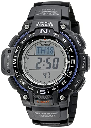 788b70bed59 Amazon.com  Casio Men s SGW-1000-1ACR Triple Sensor Digital Display ...