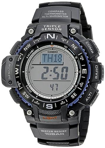 Casio Mens SGW-1000-1ACR Triple Sensor Digital Display Quartz Black Watch