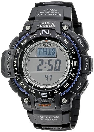 Casio Sgw-1000-1acf Reloj Digital Para Hombre Colección Protek Caja De Resina Esfera Color Gris: Casio: Amazon.es: Relojes
