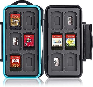 Ares Foto Caja de protección. para 12 Juegos de Nintendo Switch ...