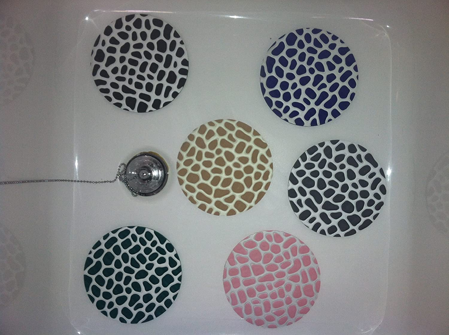 Amazon.com: Gatorgrip Nonslip Bathtub mats - circle shapes: Home ...