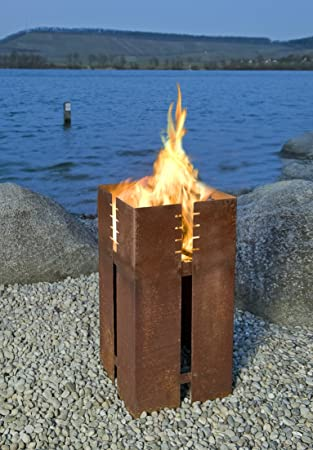 Keilbach Feuerstelle/Grill FERRUM (ohne Grillrost): Amazon.de: Küche ...