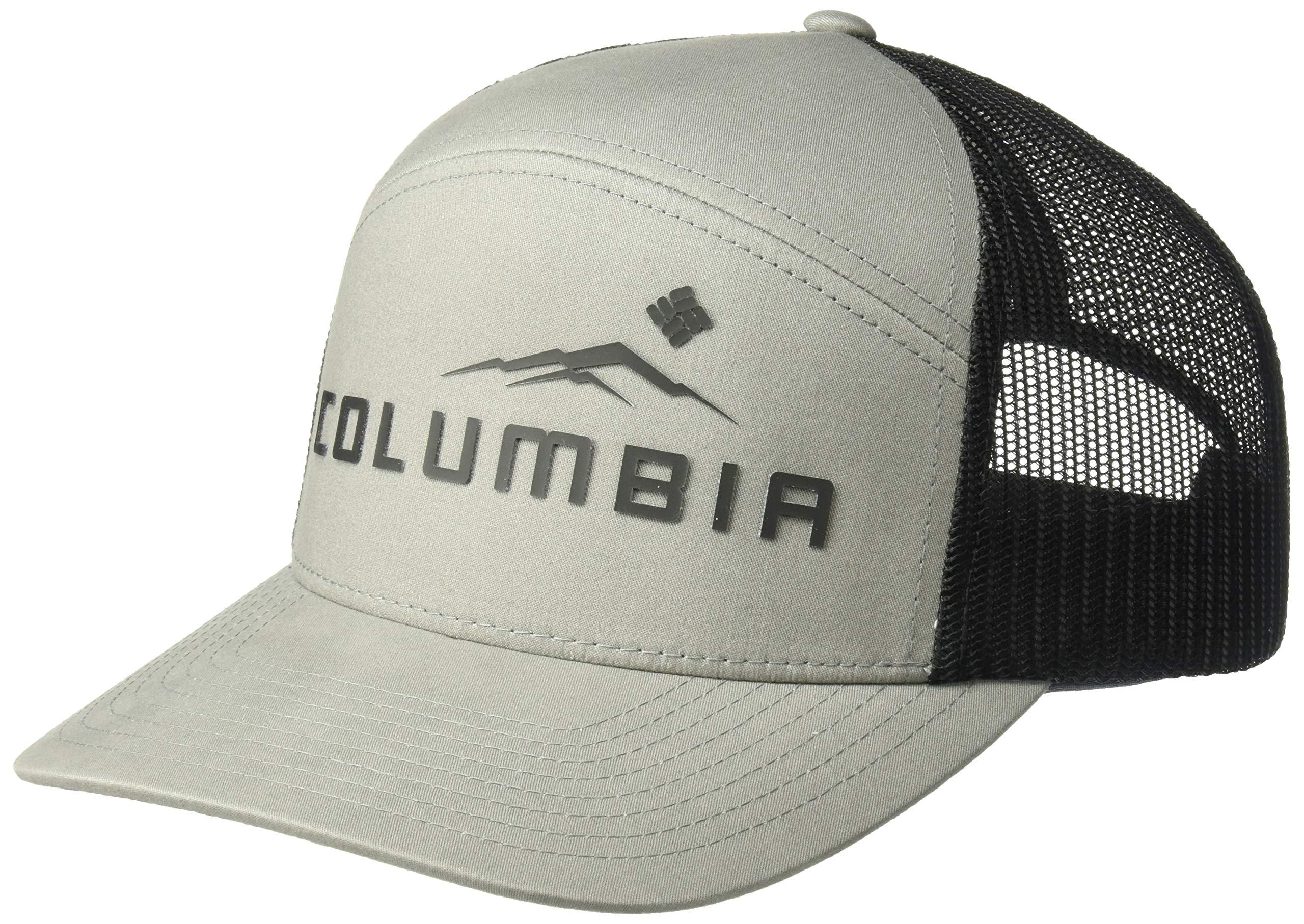 Columbia Men's Trail Evolution II Snap Back Hat, Boulder, Black Weld, One Size