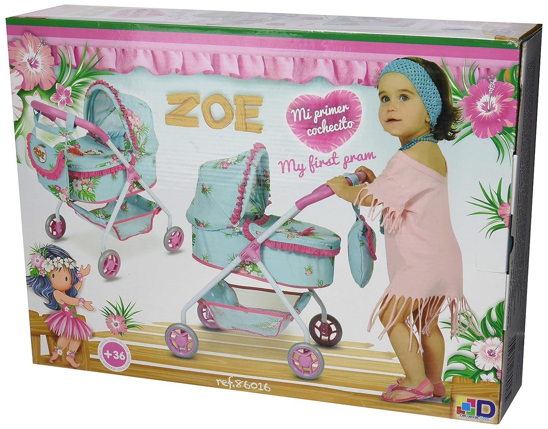 Amazon.es: Decuevas Toys - Muñeca Zoe, Coche con Bolso, 35x51x56 cm: Juguetes y juegos