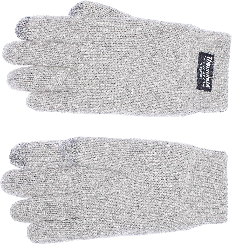 Thinsulate imbottitura termica Touchscreen EEM guanti per bambini FELIX 100/% cotone