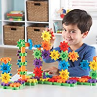 Deals on Learning Resources Gears 100-Piece Deluxe Building Set