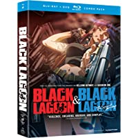 Black Lagoon: Complete Set - Season 1 & 2 (Blu-ray + DVD)